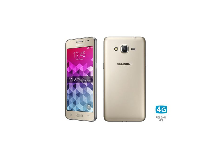 smartphones samsung galaxy grand prime or 8 go d bloqu d. Black Bedroom Furniture Sets. Home Design Ideas