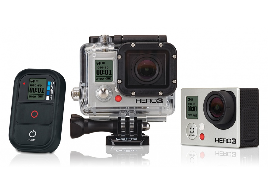 sports d 39 action cam ra gopro hero3 black edition d 39 occasion. Black Bedroom Furniture Sets. Home Design Ideas