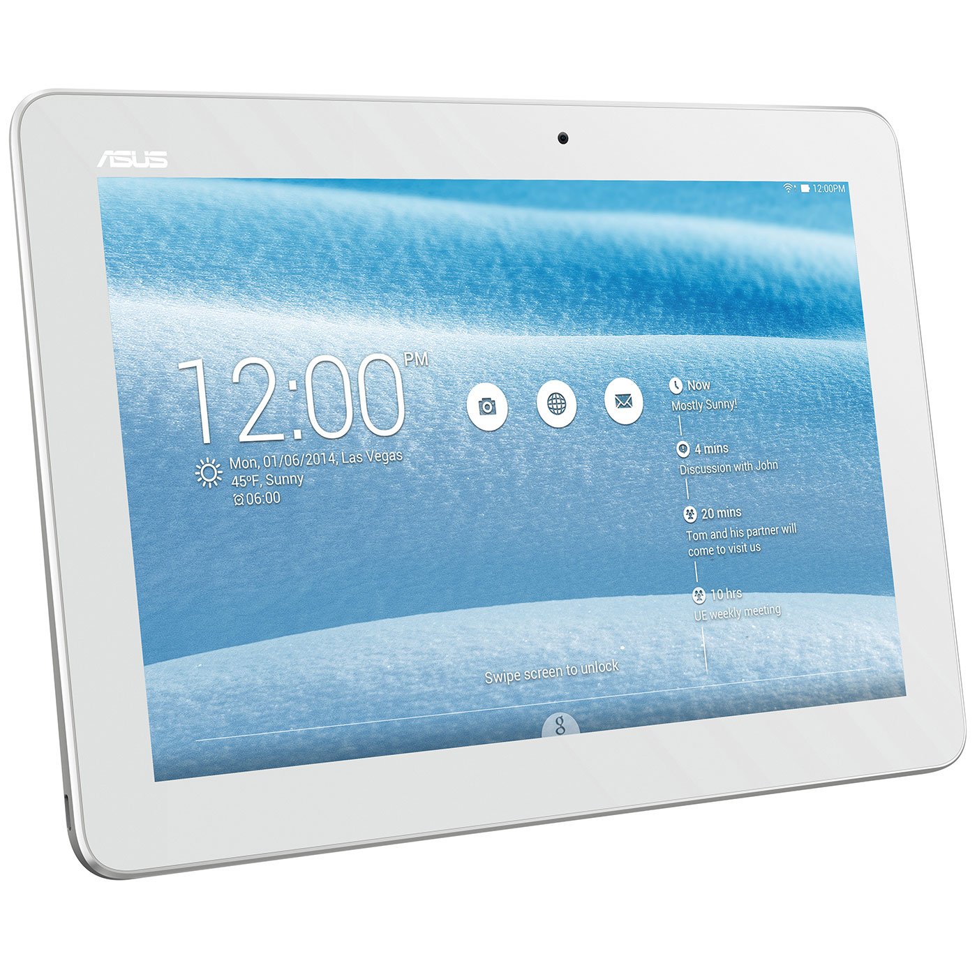 Tablette Asus Memo Pad K01e Me103k D Occasion