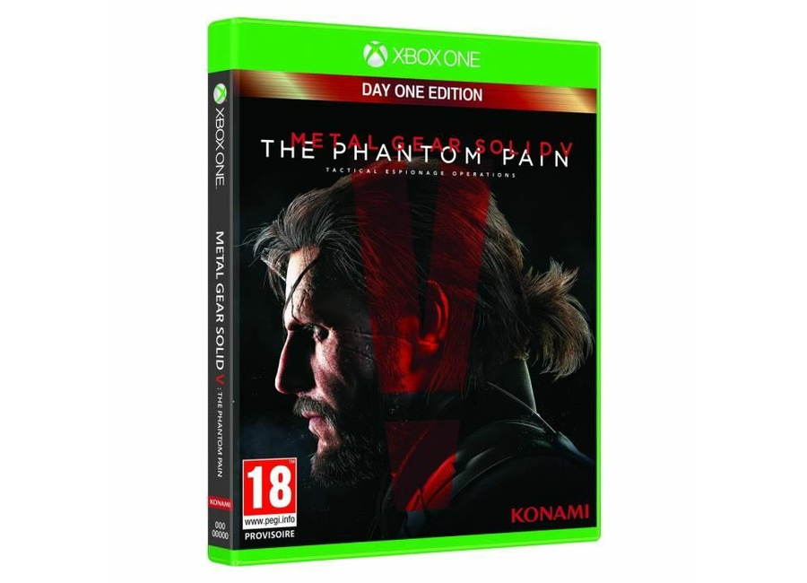 jeux vid o metal gear solid v the phantom pain day one edition xbox one d 39 occasion. Black Bedroom Furniture Sets. Home Design Ideas
