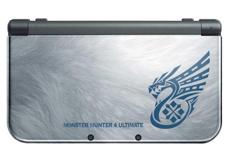 nintendo new 3ds xl monster hunter 4 edition d 39 occasion. Black Bedroom Furniture Sets. Home Design Ideas