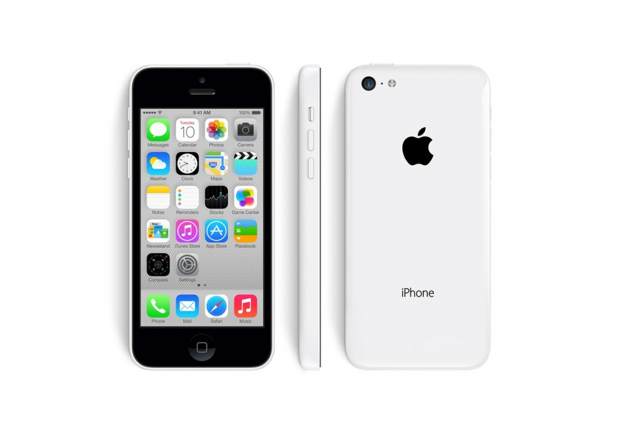 apple iphone 5c blanc 16 go d bloqu d 39 occasion. Black Bedroom Furniture Sets. Home Design Ideas