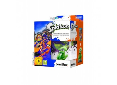jeux vid o splatoon amiibo wii u d 39 occasion. Black Bedroom Furniture Sets. Home Design Ideas