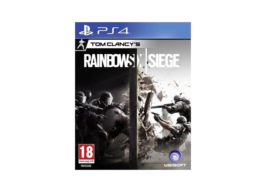 Tom Six Playstation 4PS4 Clancy's Vidéo Jeux Siege Rainbow 54RqAjL3