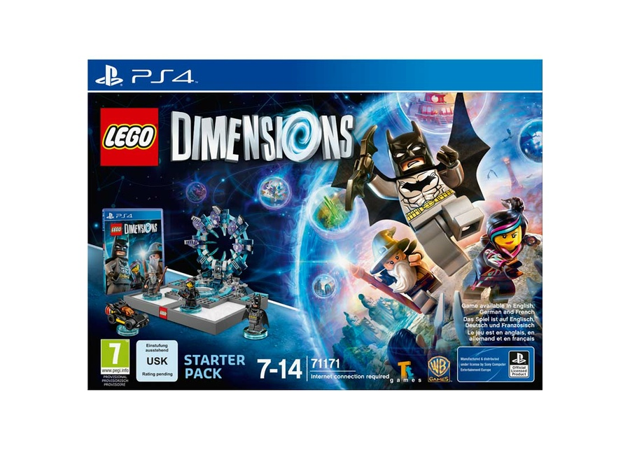 jeux vid o lego dimensions starter pack playstation 4 ps4. Black Bedroom Furniture Sets. Home Design Ideas