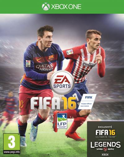 jeux vid o fifa 16 xbox one d 39 occasion. Black Bedroom Furniture Sets. Home Design Ideas