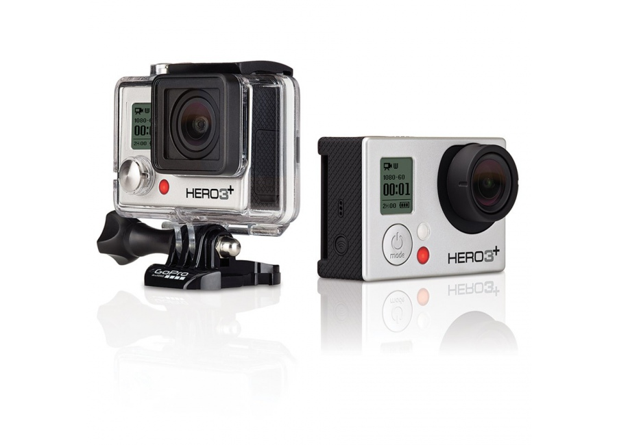 sports d 39 action cam ra gopro hero 3 silver edition d 39 occasion. Black Bedroom Furniture Sets. Home Design Ideas