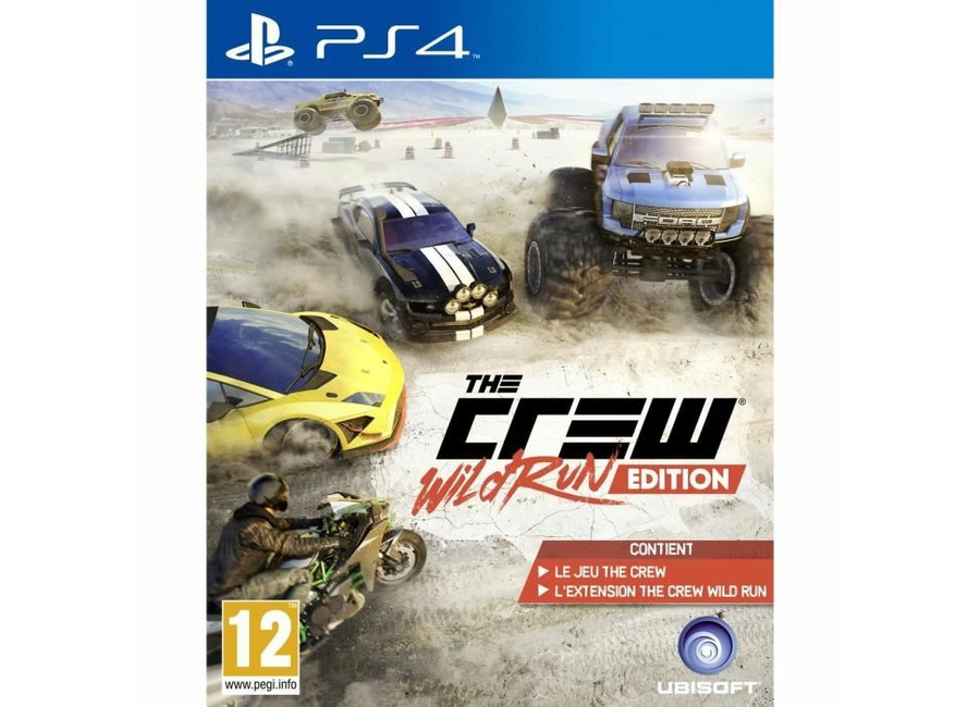 jeux vid o the crew wild run edition playstation 4 ps4 d 39 occasion. Black Bedroom Furniture Sets. Home Design Ideas