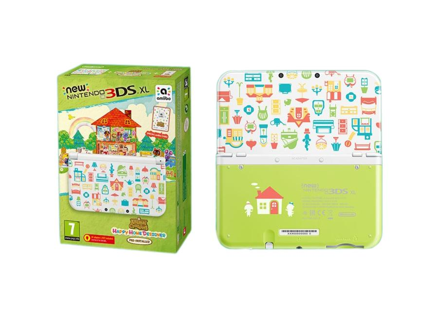 nintendo new 3ds xl animal crossing d 39 occasion. Black Bedroom Furniture Sets. Home Design Ideas