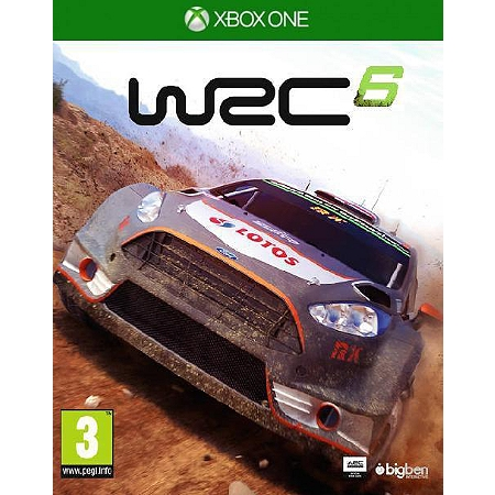 jeux vid o wrc 6 xbox one d 39 occasion. Black Bedroom Furniture Sets. Home Design Ideas
