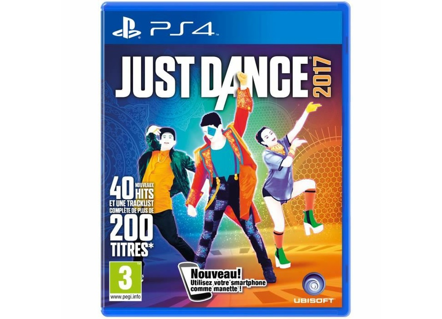jeux vid o just dance 2017 playstation 4 ps4 d 39 occasion. Black Bedroom Furniture Sets. Home Design Ideas