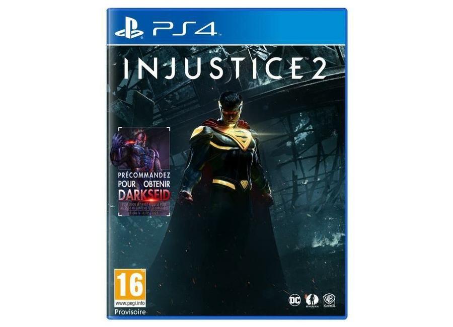 Jeux vid o injustice 2 playstation 4 ps4 d 39 occasion - Jeux en ligne ps4 ...