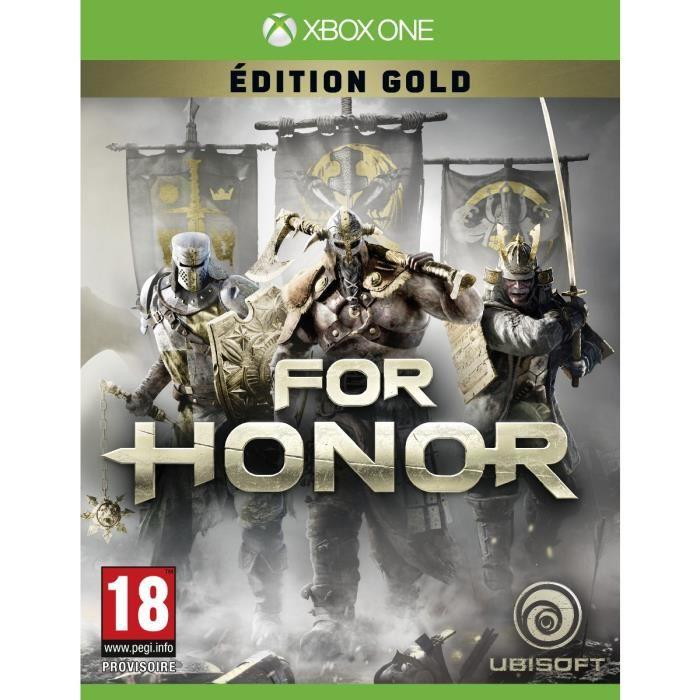jeux vid o for honor edition gold xbox one d 39 occasion. Black Bedroom Furniture Sets. Home Design Ideas