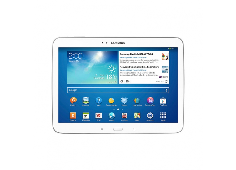 tablette samsung galaxy tab 3 blanc 16 go d 39 occasion. Black Bedroom Furniture Sets. Home Design Ideas