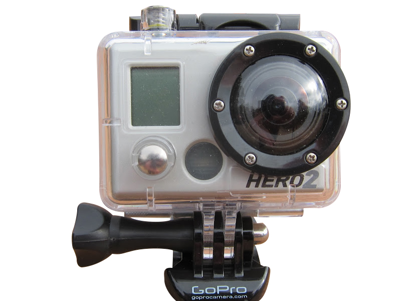 sports d 39 action cam ra gopro hero 2 gris d 39 occasion. Black Bedroom Furniture Sets. Home Design Ideas