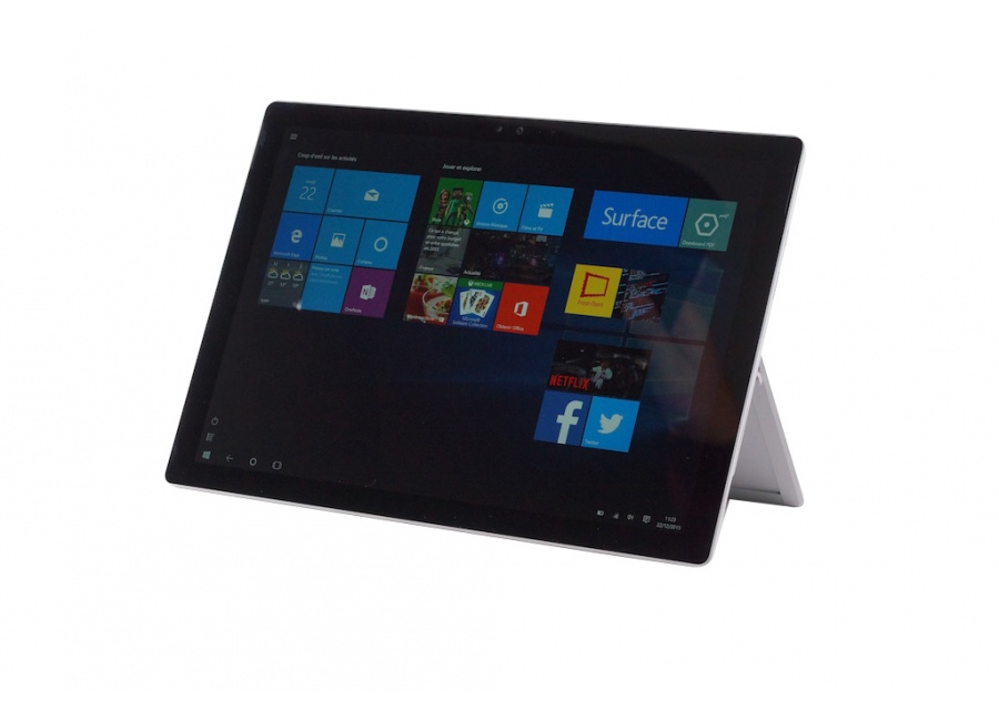 tablette microsoft surface pro 4 gris 128 go ssd stylet d 39 occasion. Black Bedroom Furniture Sets. Home Design Ideas